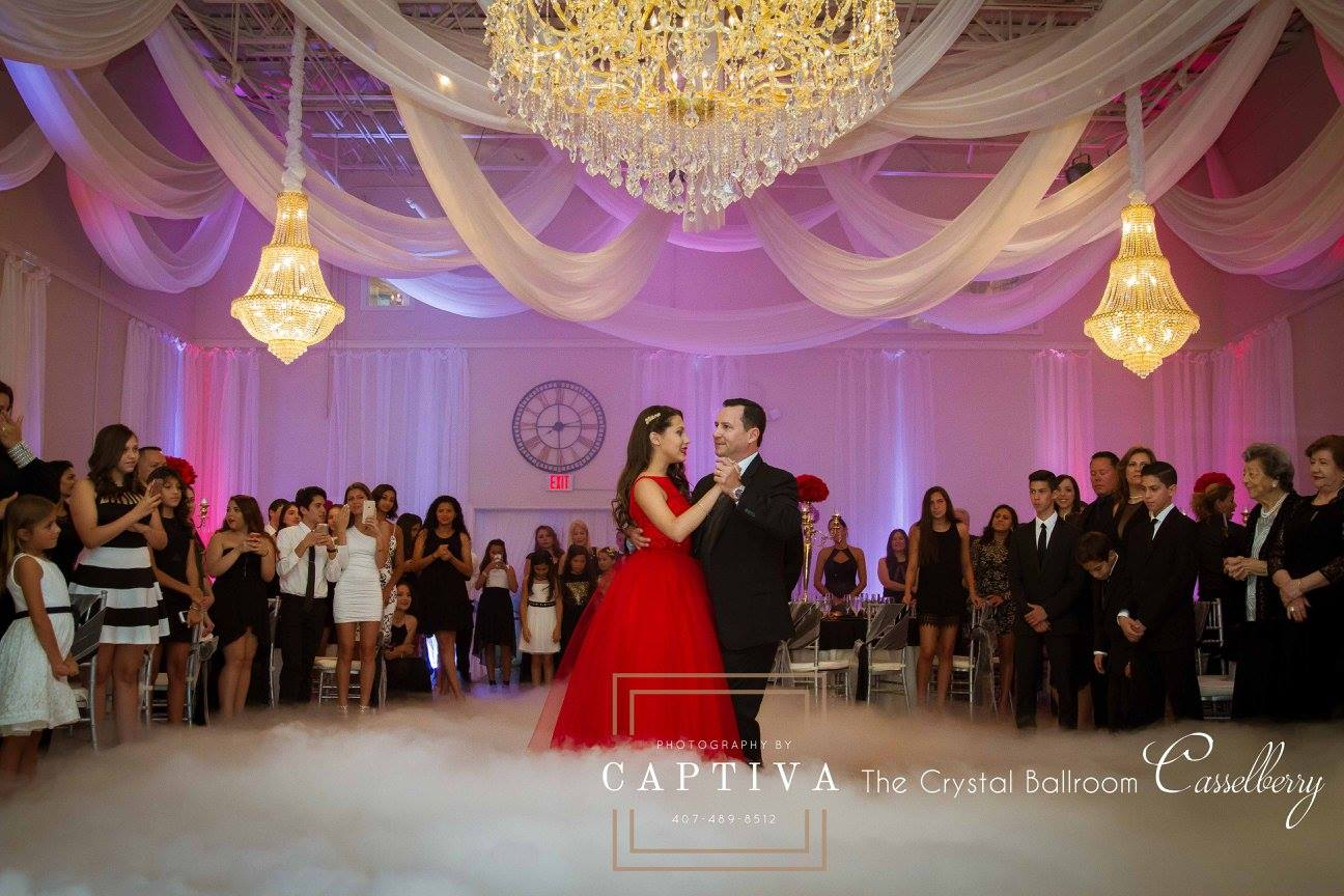 Quinceanera at The Crystal Ballroom in Casselberry