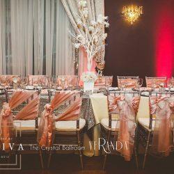 Wedding Reception Design & Venue at The Crystal Ballroom in Orlando