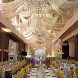 Wedding Reception Design & Banquet Hall at The Crystal Ballroom in Orlando