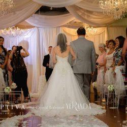 Wedding Reception & Interior Design at The Crystal Ballroom in Orlando