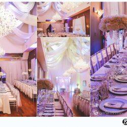 Banquet Hall Wedding Reception at The Crystal Ballroom in Orlando