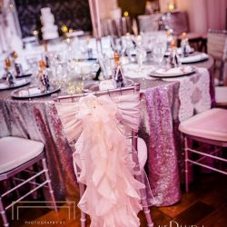 Wedding Reception Venue & Design at The Crystal Ballroom in Orlando