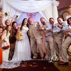 Wedding Reception at the Crystal Ballroom on the Lake