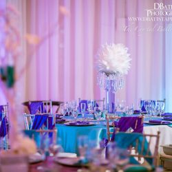 The Crystal Ballroom in Casselberry Interior Wedding Decor