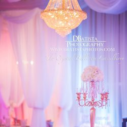 Wedding Reception Decor at The Crystal Ballroom in Casselberry, FL