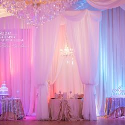 Beautiful Wedding Reception Design at The Crystal Ballroom in Casselberry