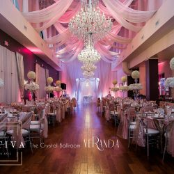 Beautiful Wedding Reception & Event Design at The Crystal Ballroom in Orlando