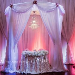 Wedding Reception & Decor at The Crystal Ballroom in Orlando