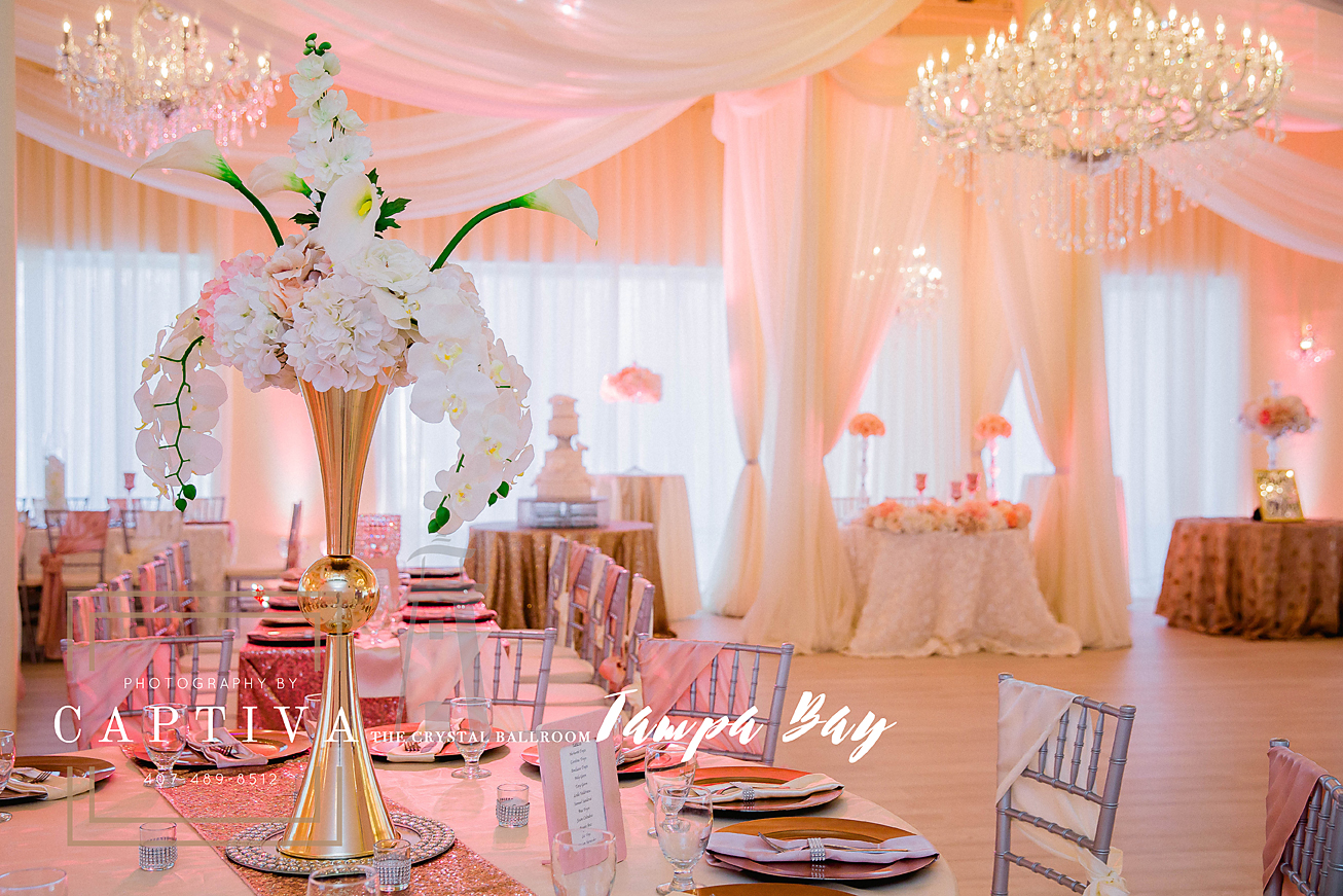 The Crystal Ballroom Floridas Premier Wedding Venue And Event Hall