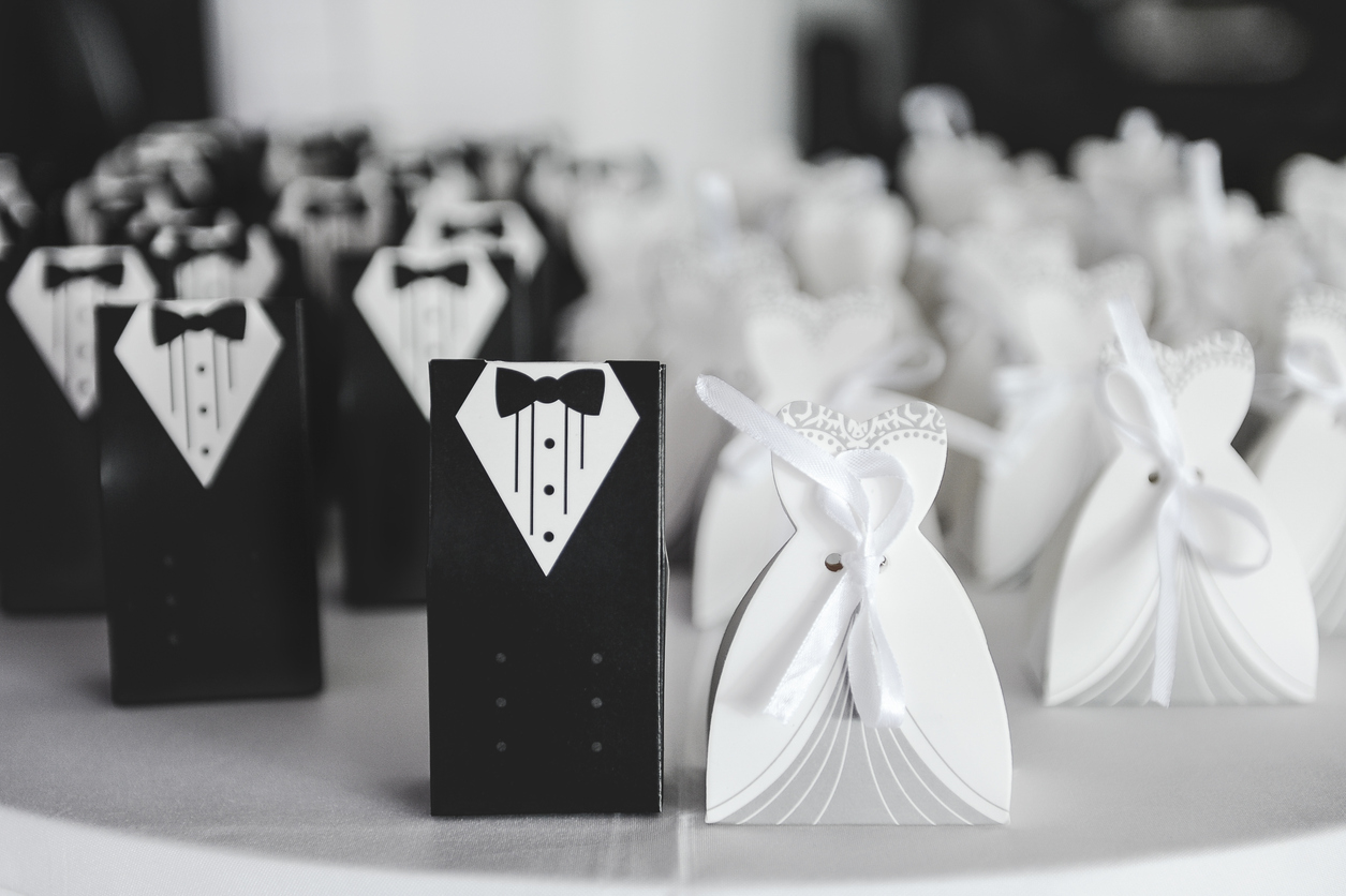 black-and-white-wedding