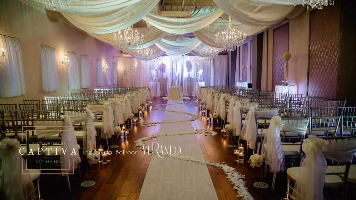 The Crystal Ballroom Florida S Premier Wedding Venue And