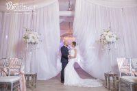 couple enjoying Crystal Ballroom luxury wedding