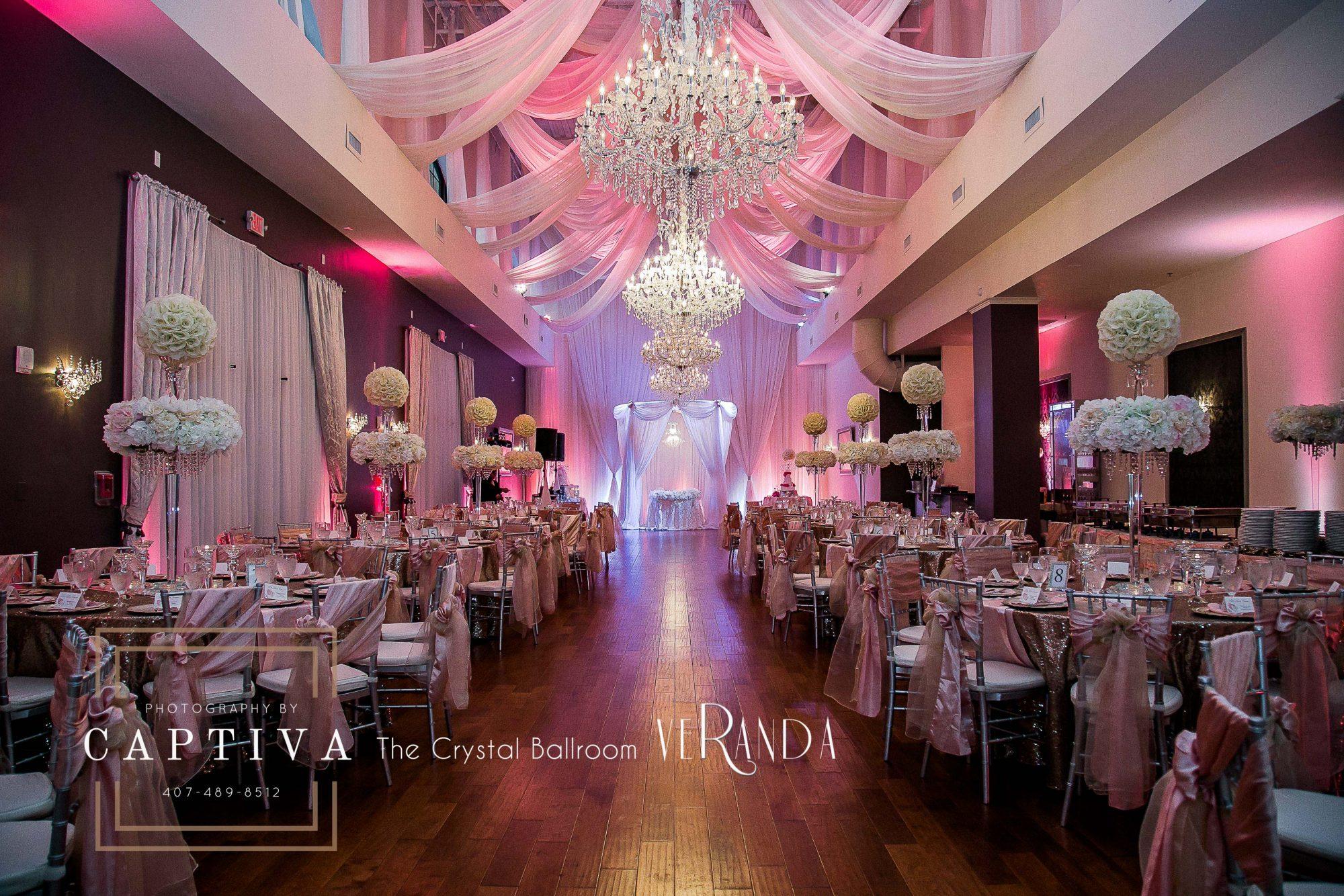 The Crystal Ballroom Floridas Premier Wedding Venue And Event Hall