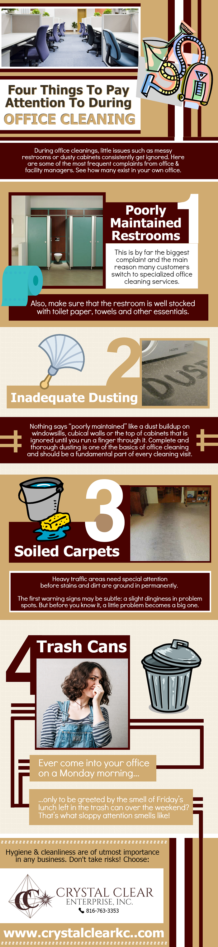 Four Things to Play Attention to During Office Cleaning