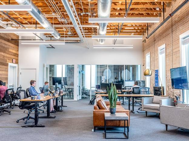 A clean, sanitized workspace boosts employee productivity