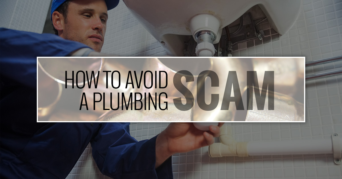 How to Avoid a Plumbing scam
