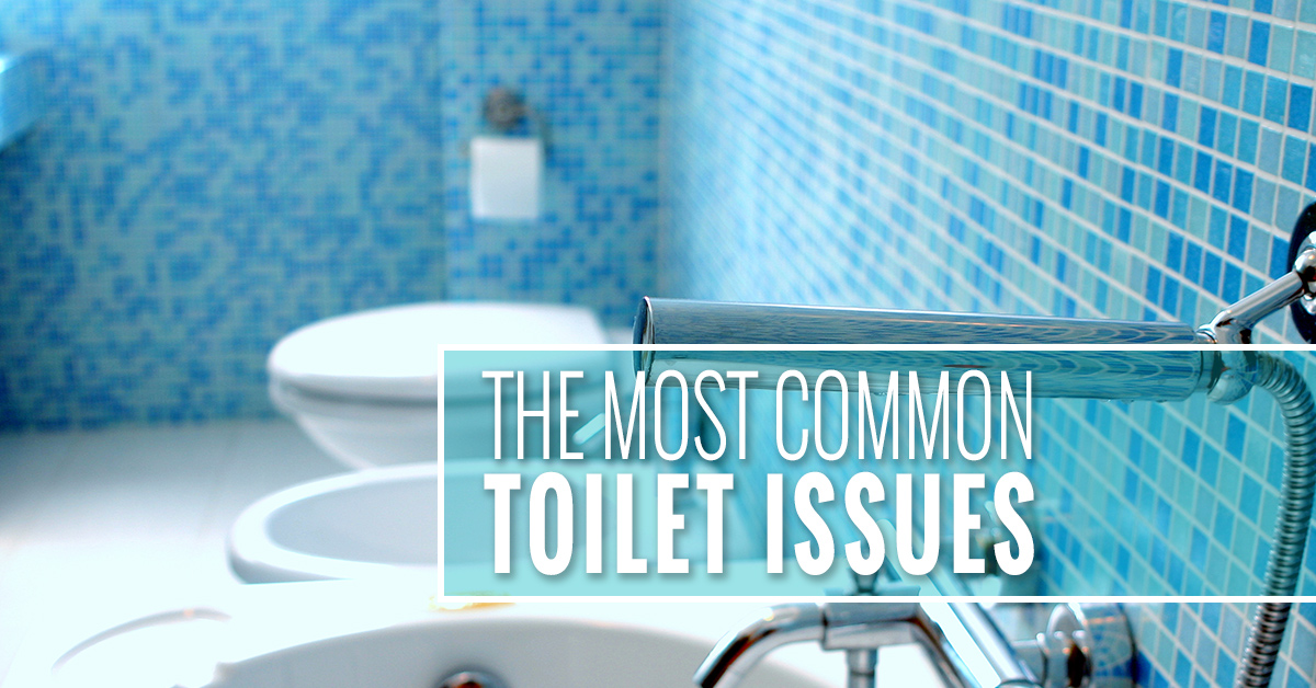 The Most Common Toilet Issues