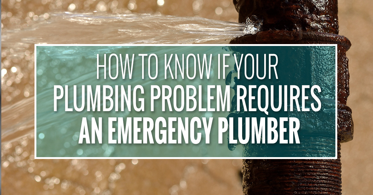 Do you need an emergency plumber