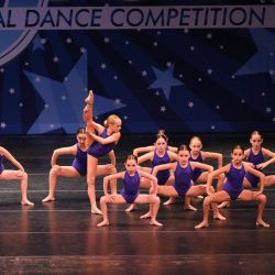 Contemporary Dance Competition Group