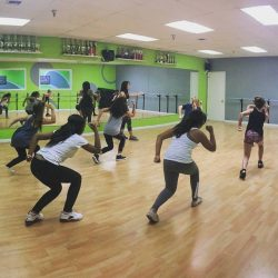 Hip Hop Dance Class in the Studio