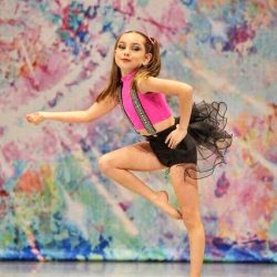 Jazz Dance Class Pose