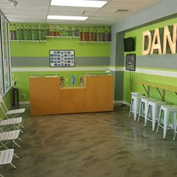 The Waiting Room at Dance Obsession