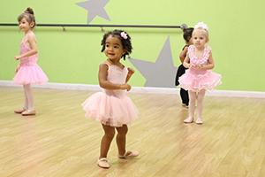 Young Ballet Dancers in the Studio