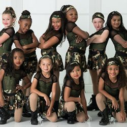 Hip Hop Students Posing