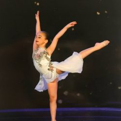 A Picture of One of Our Young Ballerinas At a Show - Dance Obsession