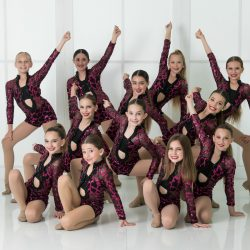 Children's Dance Competition Team