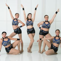 Five Members of Our Dance Studio In Costume