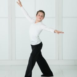Student Posing From Our Children's Dance Studio