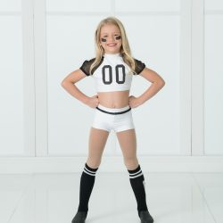 Dance Student of Our Dance Studio In a Football Player Costume