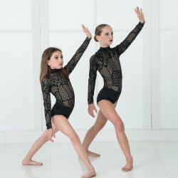 Two Dancers From Our Dance Studio Strike a Dramatic Pose