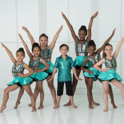 Our Dance Studio Students In Brightly Colored Costumes