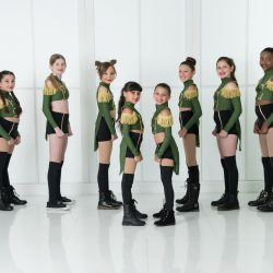 Members of Our Dance Studio in Costume