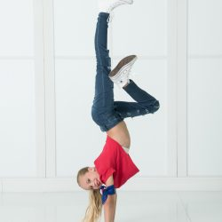 One of Our Students Performing a Hip Hop Dance Move - Dance Obsession
