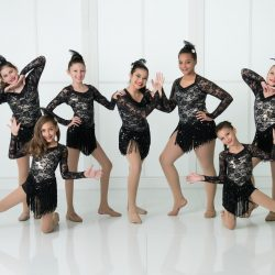 Jazz Dance Students Posing