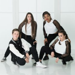 Hip-Hop Dancers Posing