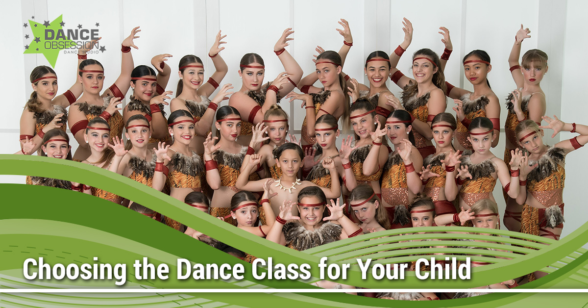 Choosing a Dance Class for Your Child