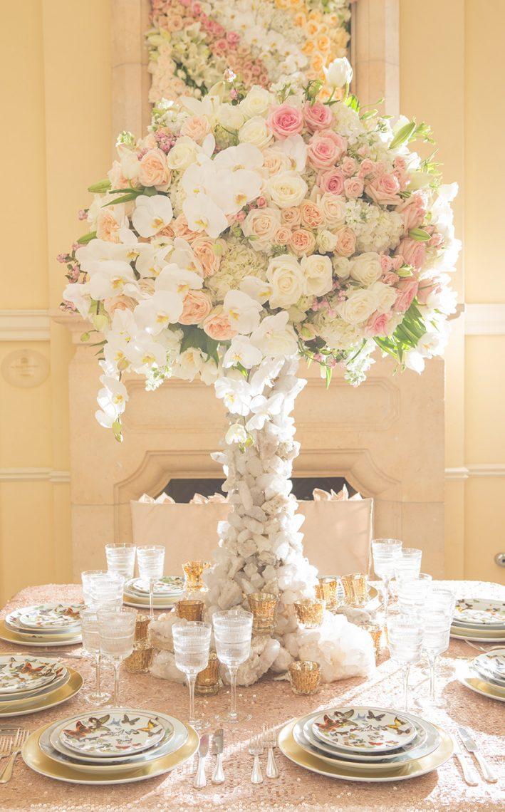 Geode Wedding Luxury Wedding Flower Designs For Fairytale Weddings