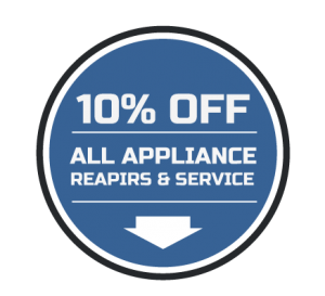 10% OFF ALL APPLIANCE REPAIRS & SERVICE!