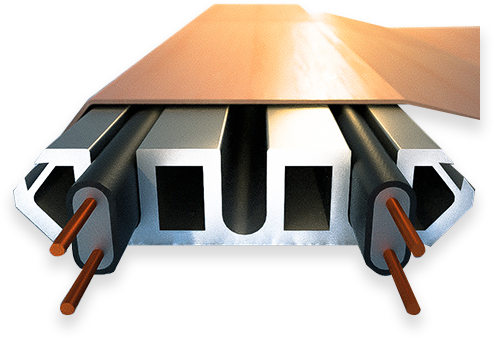 Protect your roof with our roof ice melt systems.