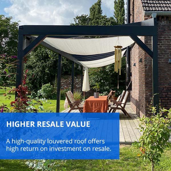 Higher Resale Value