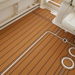 Grady White 330 Express - Mocha over Black Faux Teak