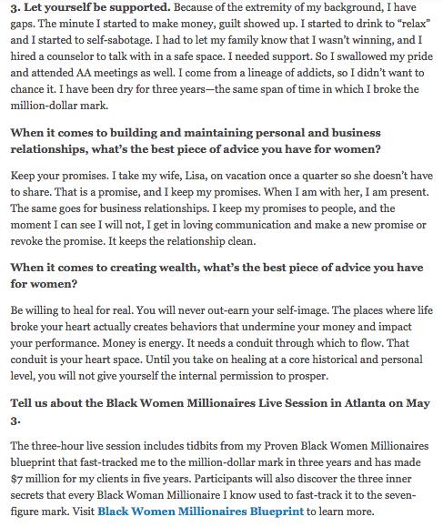 Business mentor small business coaching black motivational black enterprise malvernweather Images