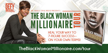 The Black Woman Millionaire Book Tour