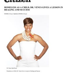 Dr. Venus on The Chicago Citizen