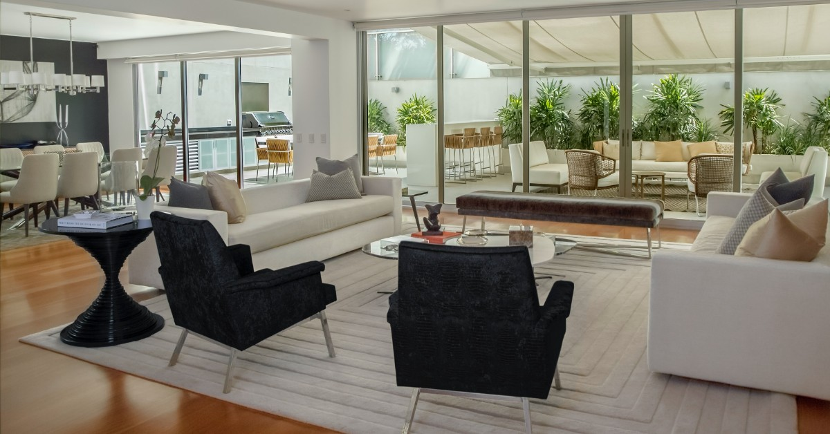 image of the inside of a luxury home