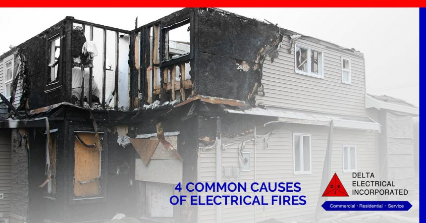 Residential Electrician: Know The Causes Of Electrical Fire